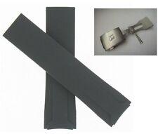 Tissot T024 T-Sport Racing Chrono BLK rubber silicon band strap bracelet buckle