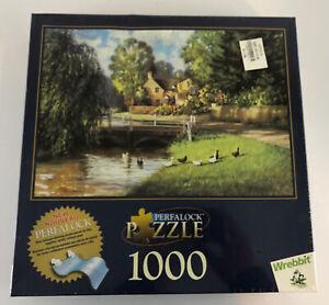 "Wrebbit 1000 Piece Perfalock Jigsaw Puzzle ""Morning Walk"" - New Sealed"