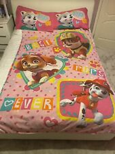 Paw Patrol Reversible Bedding Single + 2 Pillowcases