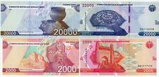 Uzbekistan  - 20 000 & 2000 som 2021, UNC,  N E W !