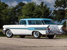 1957 Pontiac Star Chief Safari, Refrigerator Magnet, 40 Mil