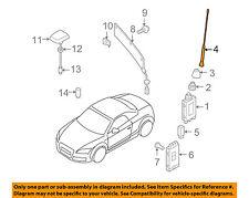 AUDI OEM 08-15 TT Quattro-Antenna Mast 8J7035849A