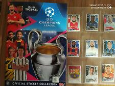 Panini Champions League 2020/2021 * Complete Set Complete Set * Empty Album