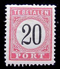 N-I NVPH P9B Type III Port 20 Cent 1881-1889 prachtig ongebruikt CW 125,-