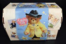 Cherished Teddies Vtg 2001 James Bear Membership Figurine & Lapel Pin Teddy Bear