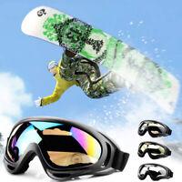 Winter Sports Snow Skiing Goggles Anti-fog Lens Snowboard Snowmobile Glasses