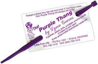 That Purple Thang, Plastic, Lynn Graves, Little Foot LLC, Poke & Pull Sewing Aid
