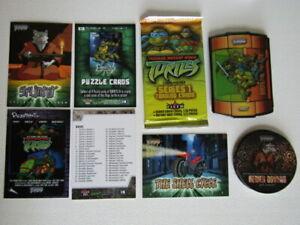 Fleer 2003 ~ Teenage Mutant Ninja Turtles Series 1 Cards Trading Card Variants