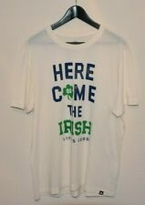 Life is Good Notre Dame Here Come The Irish T-Shirt size LARGE