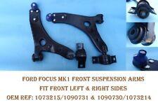 Ford Focus C-Max 2003-2007 Front Wishbone Suspension Arm Pair Left & Right
