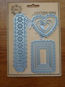 M&C Boutique - Hearts, Border & Frames - Cutting Die Set