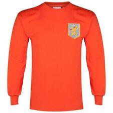 Maillots de football orange pour homme taille XL