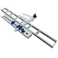 Mx 1.9m Towbar Motorcycle Carrier Rack and Ramp Motorbike Carry Dirt Bike 180KG