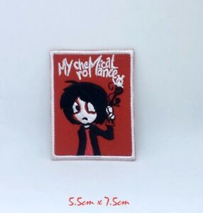 My chemical Romance rock band logo Iron Sew on Embroidered Patch #1356