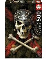 Calavera pirata puzzle 500 piezas Educa 17964
