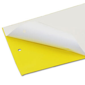 3x YELLOW FLY PAPER  GLUE TRAP FOR ALL FLYING INSECTS Garden House Pest Snare