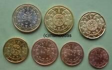 Portugal 7 Euromünzen 2017 Euro Münzen 1+2+ 5 Cent + 10+20+50 Cent + 1 Euro
