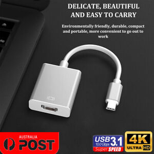 Type C USB3.1 Male to HDMI Female HDTV 1080p Adapter Cable for Macbook