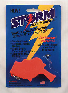 Rothco U.S. Navy Storm All Weather Whistle