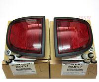 GENUINE REAR REFLECTORS KIT MITSUBISHI TRITON MN ML L200 05-15 8355A015 8355A016
