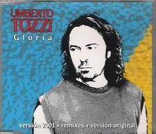 "UMBERTO TOZZI - RARO CDs REMIX SPAGNA "" GLORIA 2001 """