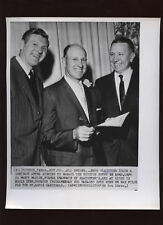 Original 1959 Enos Slaughter Signs to Manage Wire Photo