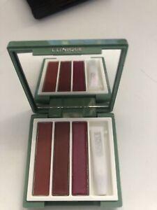 Clinique Pinks Colour Surge Longlast Lip Palette Brand New