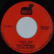 PAUL HUMPHREY: Cool Aid / Detroit USA Lizard FUNK Instro Soul 45 Hear
