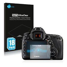 18x Displayschutzfolie für Canon EOS 5D Mark IV Klar Schutzfolie Displayfolie