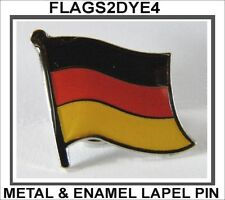 German flag Germany metal enamel lapel pin badge for clothes hat shirt.