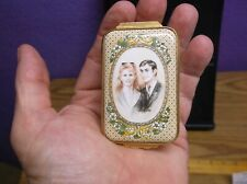 Halcyon Days Enamel Box: Marriage Prince Andrew and Sarah Ferguson: 672 of 1000