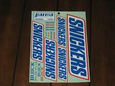 Parma 10707 Vintage NASCAR Snickers Bar Buick Decal Sticker Tamiya RC10 RC 10