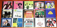 (15) CD's / R & B and SOUL ARTIST from the 50's & 60's / DISC's ARE in VG - NMT