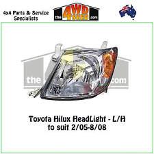 HEADLIGHT fit TOYOTA HILUX LH LEFT PASSENGER 2005-2008 ADR COMPLIANT 2WD 4WD