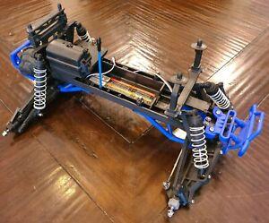 Traxxas Monster Jam Roller Slider Chassis w/Servo Metal Gears Bigfoot Stampede
