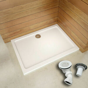 Shower Enclosure Door S Bathroom Free Waste Rectangle Square Slimline Stone Tray