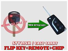 New Flip Uncut Key Fob Remote OEM Chip for NI4TMTX-1 RX300 K300U