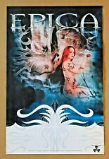Epica The Divine Conspiracy Nuclear Blast Promo Only Poster for 2007 Lp Cd Tour