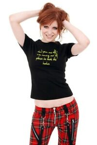Don't Piss Me Off Girls Slogan Tee from Omen