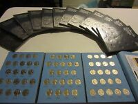 Jefferson nickel set complete from 1962- 95-D BOOK 2 NICE GROUP OF BU EXAMPLES