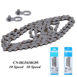 1pc HG54 HG95 10Speed MTB / Road Bike 116L Links Chain Cycling Bike Acces.