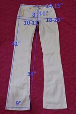 129$ NWT MISS SIXTY DL0041 EX LOVE sz W24 L34 jeans boot cut stretch cotton