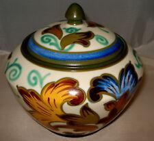 Royal Gouda Holland Plazuid Rare Lidded Tobacco Jar