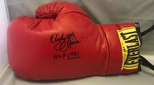 Ruben Olivares Signed Autographed Red Everlast Boxing Glove COA
