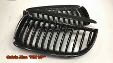 MIT CARBON LOOK FRONT KIDNEY GRILLE BMW E90 E91 3 SERIES 2005-2007
