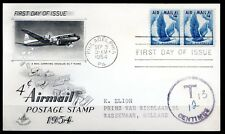 USA - 1954 Airmail stamp -  Mi. 680 FDC
