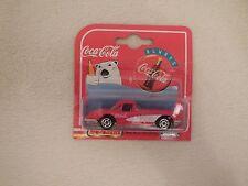 Majorette Cola Coca 58 Chevrolet Corvette * 2 Red and White