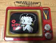 Betty Boop Lunchbox Collectible Tins 1999 Shaped Like a Tv