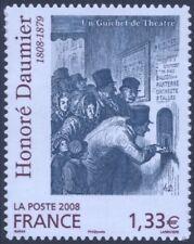 FRANKREICH FRANCE - 2008 HONORÉ DAUMIER 4567 SELBSTKLEBEND ** - YVERT 224