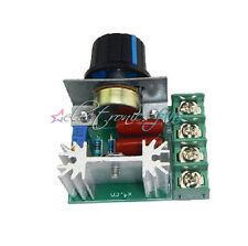 220V 2000W Speed Controller SCR Voltage Regulator PWM-Drehzahlregler 2000W